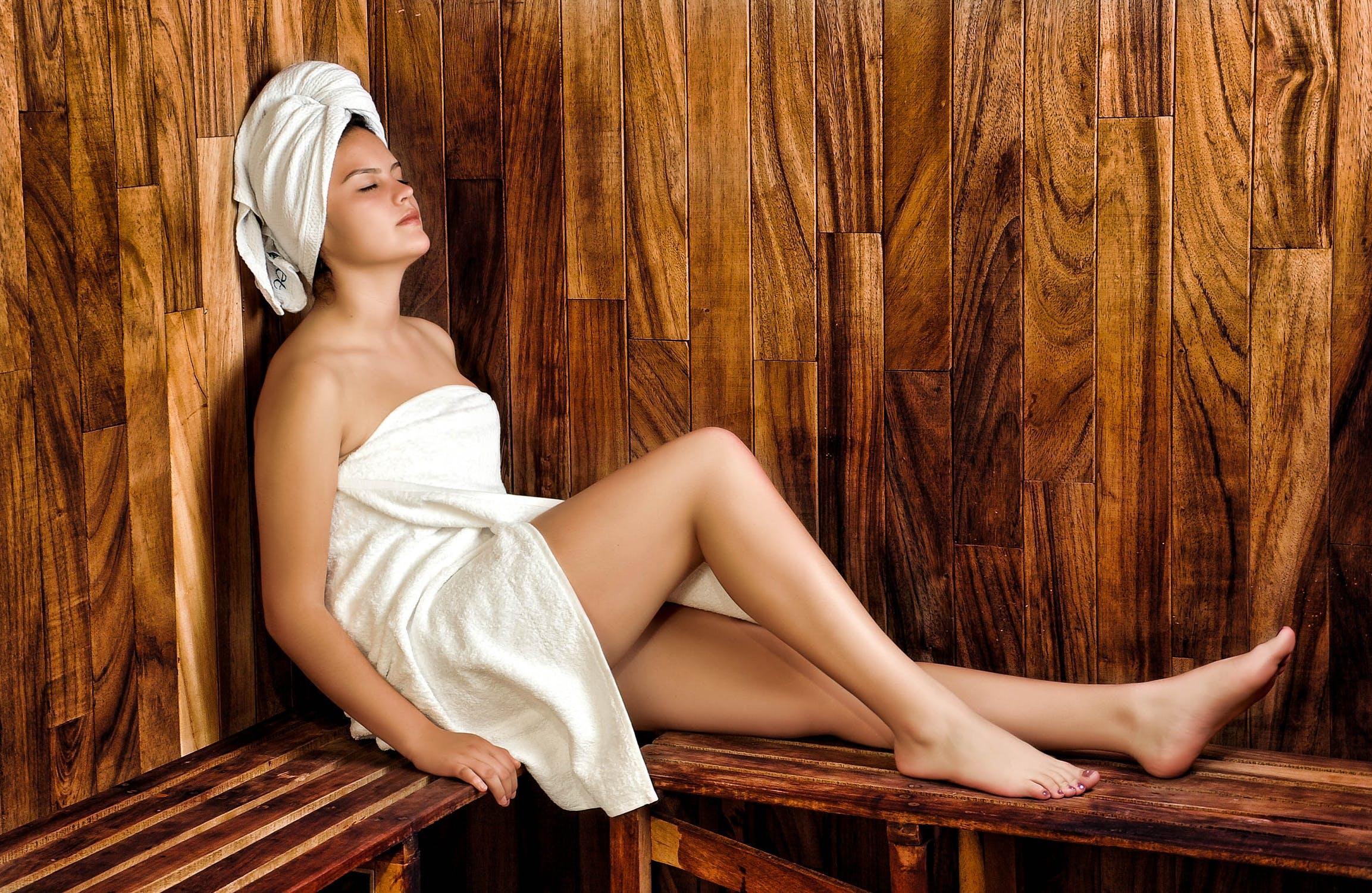 die eigene sauna